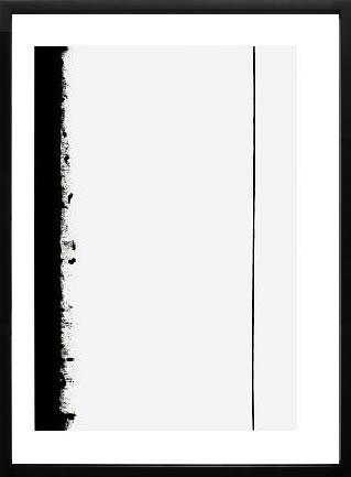 【絵画 アートパネル専門店】【正規販売店】絵画 アート/モダンアート バーネット・ニューマンFifth Station, c.1960◆シルクスクリーンプリント◆(アートパネル アートフレーム アートポスター 北欧 絵画 インテリア ポスター 壁掛け)