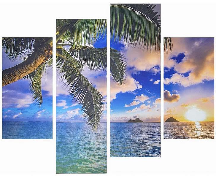 アートパネル アートポスター 絵画 タペストリー 壁掛け アートフレーム ウォールアート アートボード ファブリックパネル モノトーン モノクロ デザイナーズ アンティーク シンプル モダン 北欧 おしゃれキャンバスアート 美しいラニカイビーチ 4枚セット