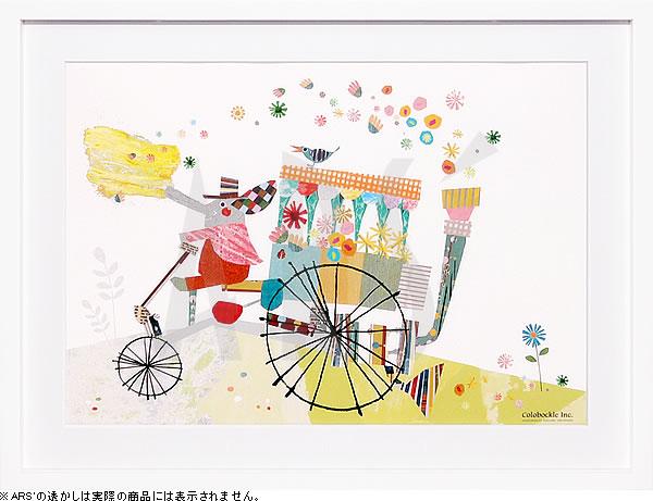 アートパネル アートポスター 絵画 インテリア ポスター タペストリー 壁掛け アートフレーム ウォールアート アートボード インテリアアート モノトーン モノクロ アンティーク シンプル 北欧 おしゃれコロボックル ぞうの花車
