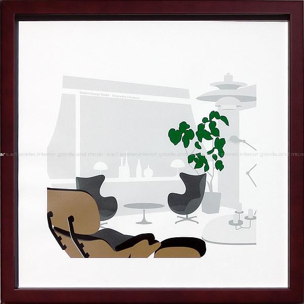 アートパネル アートポスター 絵画 インテリア ポスター タペストリー 壁掛け アートフレーム ウォールアート アートボード モダンアート モノトーン モノクロ アンティーク シンプル 北欧 おしゃれアルネ ヤコブセン エッグチェア