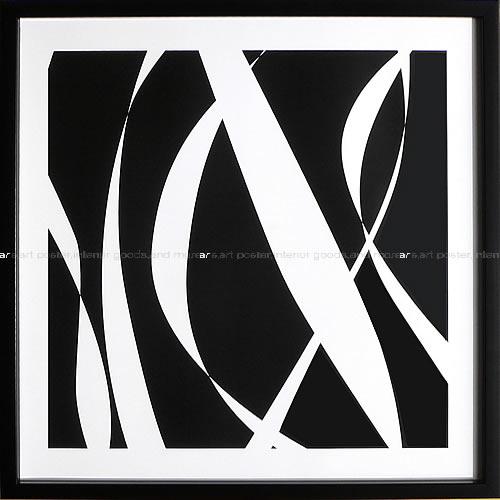 アートパネル アートポスター 絵画 インテリア ポスター タペストリー 壁掛け アートフレーム ウォールアート アートボード モダンアート モノトーン モノクロ アンティーク シンプル 北欧 おしゃれデニス デュプロック Fistral Nero BlancoIII