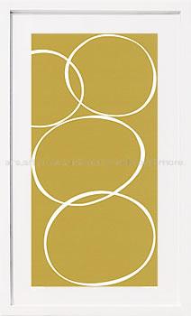 【絵画 アートパネル 壁掛け 専門店】アートフレーム/アートポスター モダンアート デニス・デュプロック PistachioII(アートパネル アートフレーム アートポスター 北欧 絵画 インテリア ポスター 壁掛け)【0824カード分割】