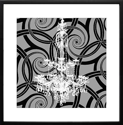 【絵画 アートパネル 壁掛け 専門店】アートフレーム/アートポスター エリン・クラーク Dazzling(アートパネル アートフレーム アートポスター 北欧 絵画 インテリア ポスター 壁掛け)【0824カード分割】