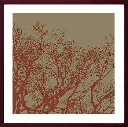 【絵画 アートパネル 壁掛け 専門店】アートフレーム/アートポスター エリン・クラーク Cinnamon Tree II(アートパネル アートフレーム アートポスター 北欧 絵画 インテリア ポスター 壁掛け)【0824カード分割】
