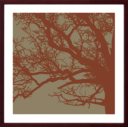 【絵画 アートパネル 壁掛け 専門店】アートフレーム/アートポスター エリン・クラーク Cinnamon Tree III(アートパネル アートフレーム アートポスター 北欧 絵画 インテリア ポスター 壁掛け)【0824カード分割】