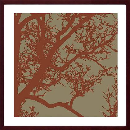 【絵画 アートパネル 壁掛け 専門店】アートフレーム/アートポスター エリン・クラーク Cinnamon Tree IV(アートパネル アートフレーム アートポスター 北欧 絵画 インテリア ポスター 壁掛け)【0824カード分割】