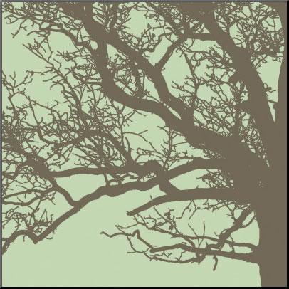 【絵画 アートパネル専門店】【アートフレーム専業】絵画 アート/アートパネル エリン・クラーク Winter Tree III◆フレームのないパネル加工◆(アートパネル アートフレーム アートポスター 絵画 インテリア ポスター 壁掛け)【0824カード分割】