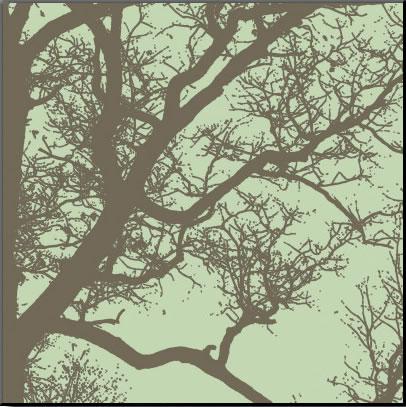 【絵画 アートパネル専門店】【アートフレーム専業】絵画 アート/アートパネル エリン・クラーク Winter Tree IV◆フレームのないパネル加工◆(アートパネル アートフレーム アートポスター 絵画 インテリア ポスター 壁掛け)【0824カード分割】
