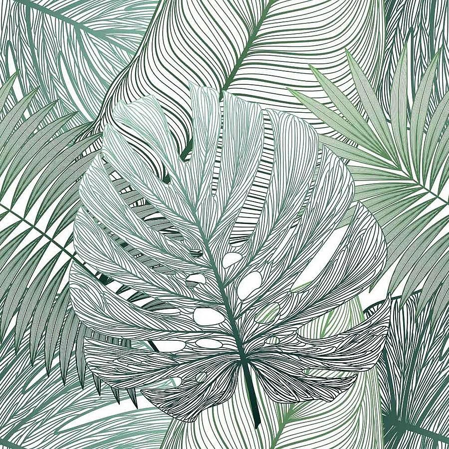 アートパネル アートポスター 絵画 タペストリー 壁掛け アートフレーム ウォールアート アートボード ファブリックパネル モノトーン モノクロ デザイナーズ アンティーク シンプル モダン 北欧 おしゃれNEW DESIGN CONCEPT Tropical leaf palm