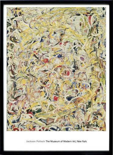 アートパネル アートポスター 絵画 インテリア ポスター タペストリー 壁掛け アートフレーム ウォールアート アートボード モダンアート モノトーン モノクロ アンティーク シンプル 北欧 おしゃれジャクソン ポロック Shimmering Substance, c.1946