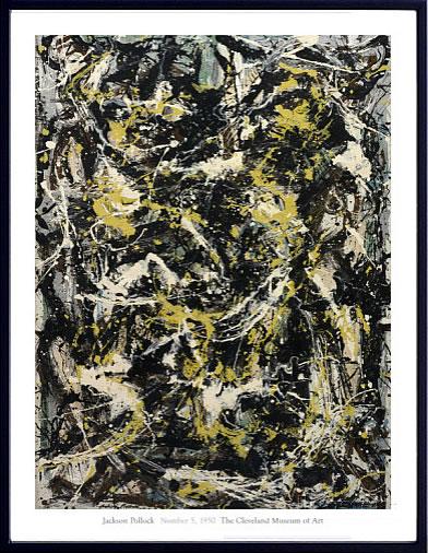 アートパネル アートポスター 絵画 インテリア ポスター タペストリー 壁掛け アートフレーム ウォールアート アートボード モダンアート モノトーン モノクロ アンティーク シンプル 北欧 おしゃれジャクソン ポロック Number 5, 1950