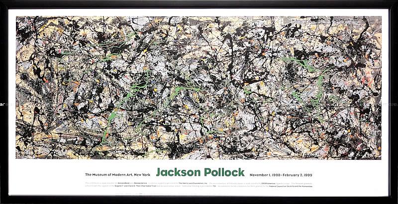 アートパネル アートポスター 絵画 インテリア ポスター タペストリー 壁掛け アートフレーム ウォールアート アートボード モダンアート モノトーン モノクロ アンティーク シンプル 北欧 おしゃれジャクソン ポロック Lucifer