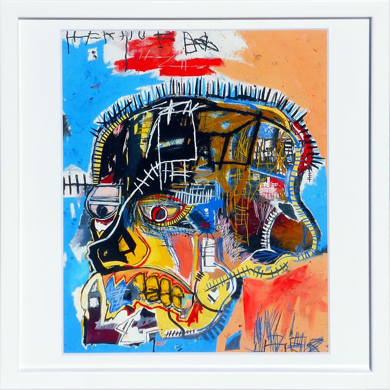 【絵画 アートパネル 壁掛け 専門店】アートフレーム/アートポスター ポップアート ジャン・ミシェル・バスキア Untitled(アートパネル アートフレーム アートポスター 北欧 絵画 インテリア ポスター 壁掛け)【0824カード分割】