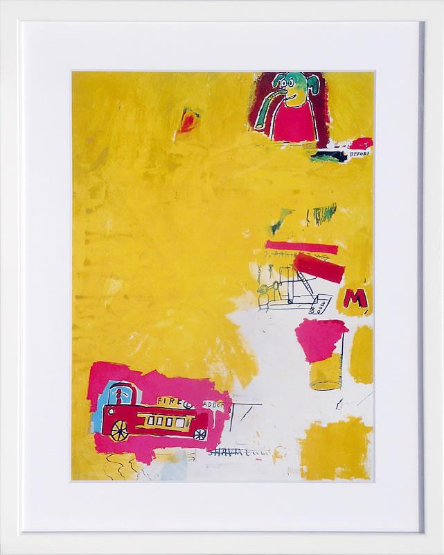 アートパネル アートポスター 絵画 インテリア ポスター タペストリー 壁掛け アートフレーム ウォールアート アートボード ポップアート モノトーン モノクロ デザイナーズ アンティーク シンプル モダン 北欧 おしゃれジャン ミシェル バスキア Pink Elephant