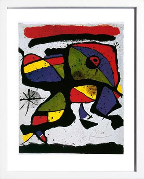 アートパネル アートポスター 絵画 インテリア ポスター タペストリー 壁掛け アートフレーム ウォールアート アートボード モダンアート モノトーン モノクロ アンティーク シンプル 北欧 おしゃれジョアン ミロ Composition