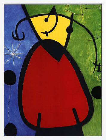 【絵画 アートパネル 壁掛け 専門店】アートフレーム/アートポスター モダンアート ジョアン・ミロDaybreak Tagesanbruch, 1968(アートパネル アートフレーム アートポスター 絵画 インテリア ポスター 壁掛け)