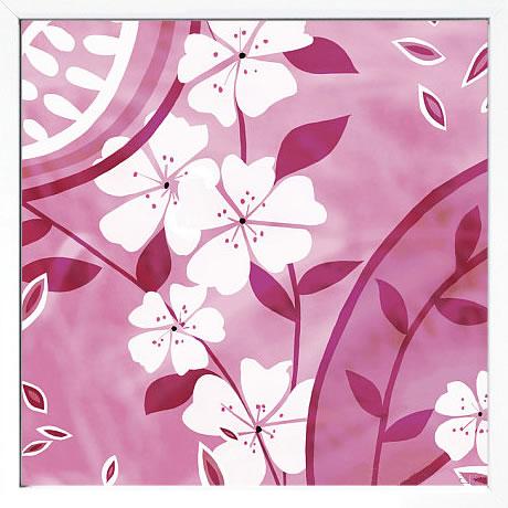 【絵画 アートパネル 壁掛け 専門店】アートフレーム/アートポスター ケイト・ナイト Summer Blossoms 4(アートパネル アートフレーム アートポスター 北欧 絵画 インテリア ポスター 壁掛け)