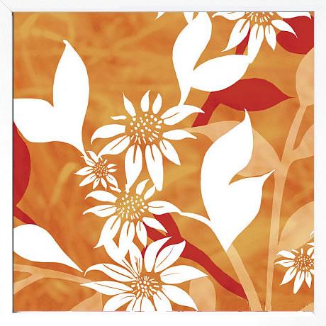 【絵画 アートパネル 壁掛け 専門店】アートフレーム/アートポスター ケイト・ナイト Summer Blossoms 2(アートパネル アートフレーム アートポスター 北欧 絵画 インテリア ポスター 壁掛け)