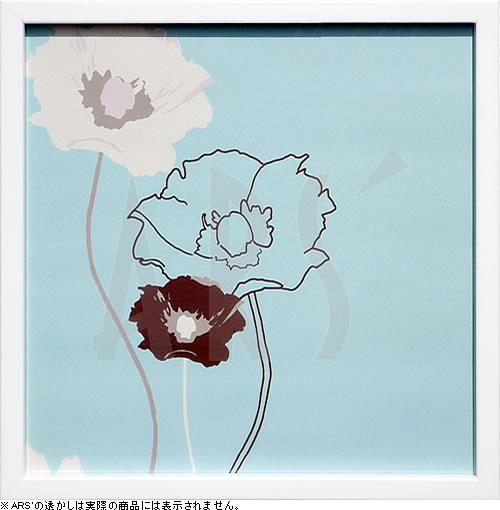 アートパネル アートポスター 絵画 インテリア ポスター タペストリー 壁掛け アートフレーム ウォールアート アートボード インテリアアート モノトーン モノクロ アンティーク シンプル 北欧 おしゃれケイト ナイト Golden Poppy III