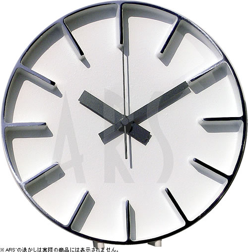 【壁掛け タペストリ専門店】【ウォールアート専業】掛け時計/レムノス ウォールクロック アズミ edge clock(壁掛け時計/おしゃれ/北欧/アンティーク/お洒落/新築祝い/ガラス/木製)【0824カード分割】