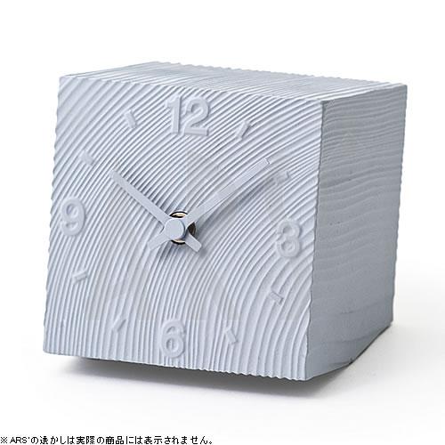 壁掛け時計 掛け時計 ウォールクロック Lemnos レムノス 置き時計 スタンドクロック アズミ cube グレー 電波時計ではありません おしゃれ シンプル 北欧 モダン デザイナーズ アンティーク 高級 かわいい インテリア ギフト プレゼント 贈答品 新築祝い