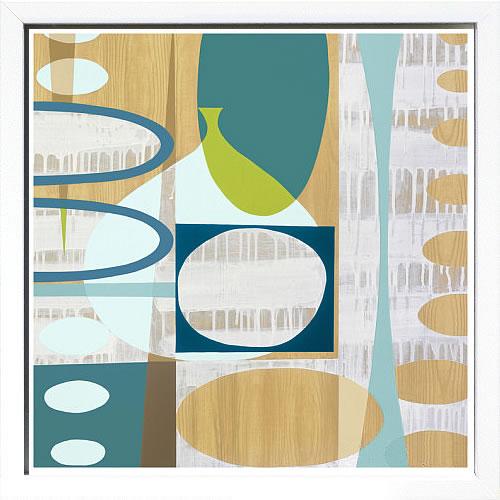 【絵画 アートパネル 壁掛け 専門店】アートフレーム/アートポスター メアリー・カルキンズOcean and Sand 3(アートパネル アートフレーム アートポスター 北欧 絵画 インテリア ポスター 壁掛け)