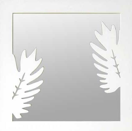 【壁掛け タペストリ専門店】【ウォールアート専業】壁掛け鏡/フォームミラー Kookaburra White(ウォールミラー/デザインミラー/インテリアミラー/姿見)【0824カード分割】