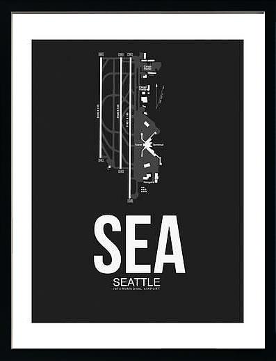 アートパネル アートポスター 絵画 インテリア ポスター タペストリー 壁掛け アートフレーム ウォールアート アートボード ポップアート モノトーン モノクロ デザイナーズ アンティーク シンプル モダン 北欧 おしゃれナックスアート シアトル国際空港