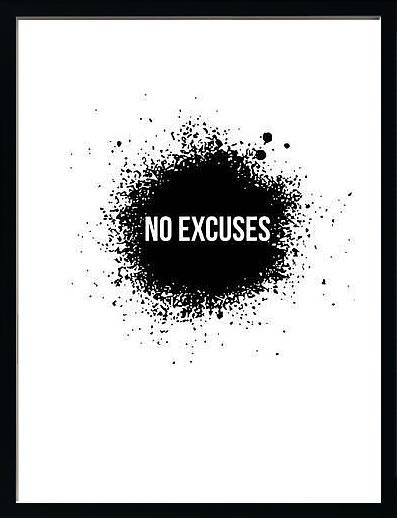 アートパネル アートポスター 絵画 インテリア ポスター タペストリー 壁掛け アートフレーム ウォールアート アートボード ポップアート モノトーン モノクロ デザイナーズ アンティーク シンプル モダン 北欧 おしゃれナックスアート No Excuses