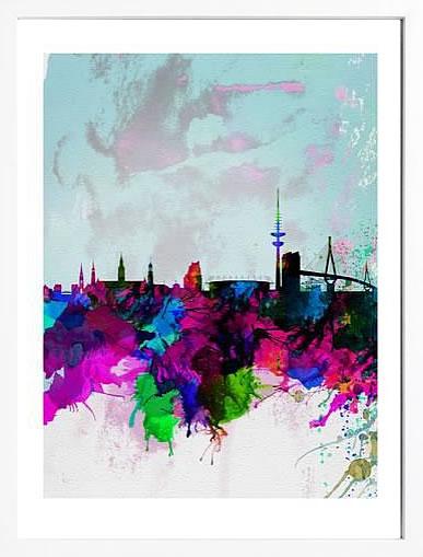アートパネル アートポスター 絵画 インテリア ポスター タペストリー 壁掛け アートフレーム ウォールアート アートボード ポップアート モノトーン モノクロ デザイナーズ アンティーク シンプル モダン 北欧 おしゃれナックスアート ハンブルク