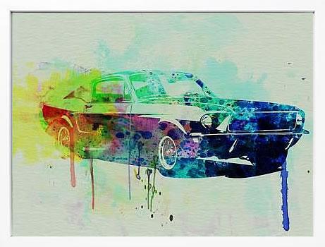 アートパネル アートポスター 絵画 インテリア ポスター タペストリー 壁掛け アートフレーム ウォールアート アートボード ポップアート モノトーン モノクロ デザイナーズ アンティーク シンプル モダン 北欧 おしゃれナックスアート フォード マスタング