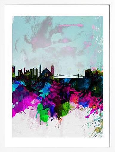 アートパネル アートポスター 絵画 インテリア ポスター タペストリー 壁掛け アートフレーム ウォールアート アートボード ポップアート モノトーン モノクロ デザイナーズ アンティーク シンプル モダン 北欧 おしゃれナックスアート イスタンブール