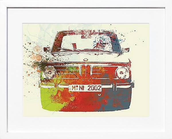 アートパネル アートポスター 絵画 インテリア ポスター タペストリー 壁掛け アートフレーム ウォールアート アートボード ポップアート モノトーン モノクロ デザイナーズ アンティーク シンプル モダン 北欧 おしゃれナックスアート BMW 2002シリーズ