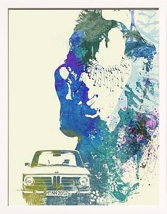 アートパネル アートポスター 絵画 インテリア ポスター タペストリー 壁掛け アートフレーム ウォールアート アートボード ポップアート モノトーン モノクロ デザイナーズ アンティーク シンプル モダン 北欧 おしゃれナックスアート BMW ガール