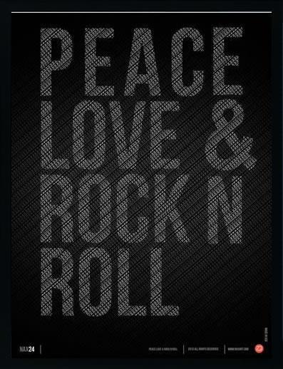 アートパネル アートポスター 絵画 インテリア ポスター タペストリー 壁掛け アートフレーム ウォールアート アートボード ポップアート モノトーン モノクロ デザイナーズ アンティーク シンプル モダン 北欧 おしゃれナックスアート Peace Love and Rock N Roll