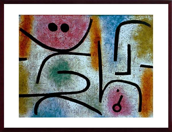 【絵画 アートパネル 壁掛け 専門店】アートフレーム/アートポスター モダンアート パウル・クレーBroken Key, c.1938(アートパネル アートフレーム アートポスター 北欧 絵画 インテリア ポスター 壁掛け)【0824カード分割】