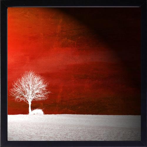【絵画 アートパネル 壁掛け 専門店】アートフレーム/アートポスター Sainte Laudy PhilippeSensation in Red(アートパネル アートフレーム アートポスター 北欧 絵画 インテリア ポスター 壁掛け)【0824カード分割】