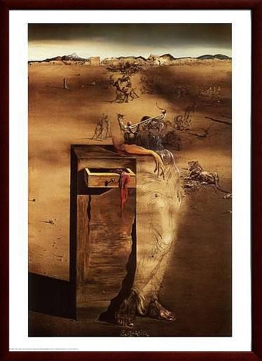 アートパネル アートポスター 絵画 インテリア ポスター タペストリー 壁掛け アートフレーム ウォールアート アートボード モダンアート モノトーン モノクロ アンティーク シンプル 北欧 おしゃれサルバドール ダリ スペイン
