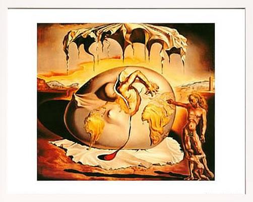 アートパネル アートポスター 絵画 インテリア ポスター タペストリー 壁掛け アートフレーム ウォールアート アートボード モダンアート モノトーン モノクロ アンティーク シンプル 北欧 おしゃれサルバドール ダリ Geopoliticus Child