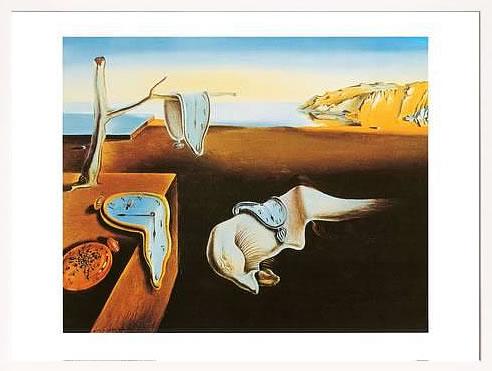アートパネル アートポスター 絵画 インテリア ポスター タペストリー 壁掛け アートフレーム ウォールアート アートボード モダンアート モノトーン モノクロ アンティーク シンプル 北欧 おしゃれサルバドール ダリ 記憶の固執