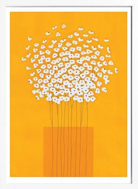 アートパネル アートポスター 絵画 インテリア ポスター タペストリー 壁掛け アートフレーム ウォールアート アートボード インテリアアート モノトーン モノクロ アンティーク シンプル 北欧 おしゃれサカイ タカシ Nine Stem Vase