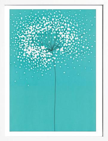 アートパネル アートポスター 絵画 インテリア ポスター タペストリー 壁掛け アートフレーム ウォールアート アートボード モダンアート モノトーン モノクロ アンティーク シンプル 北欧 おしゃれサカイ タカシ Dandelion