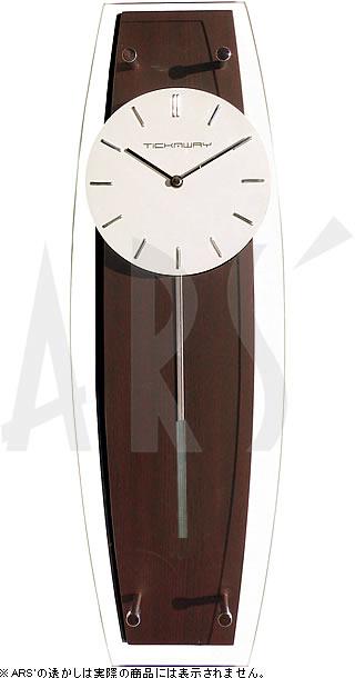 ギフトラッピング無料 シックなフォルムだから幅広いテイストで使える壁掛け時計 新築祝いや贈り物に最適 壁掛け時計 安心と信頼 掛け時計 ウォールクロック TICKAWAY 振り子時計 電波時計ではありません おしゃれ シンプル モダン 割引 デザイナーズ 贈答品 高級 インテリア アンティーク 北欧 かわいい 新築祝い 造花 木製