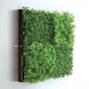 アートパネル アートポスター リーフパネル 造花パネル インテリア タペストリー 壁掛け アートフレーム ウォールアート アートボード モノトーン モノクロ アンティーク シンプル モダン 北欧 おしゃれウォールグリーン 4B(Brown)