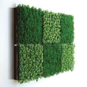 アートパネル アートポスター リーフパネル 造花パネル インテリア タペストリー 壁掛け アートフレーム ウォールアート アートボード モノトーン モノクロ アンティーク シンプル モダン 北欧 おしゃれウォールグリーン 6C(Brown)