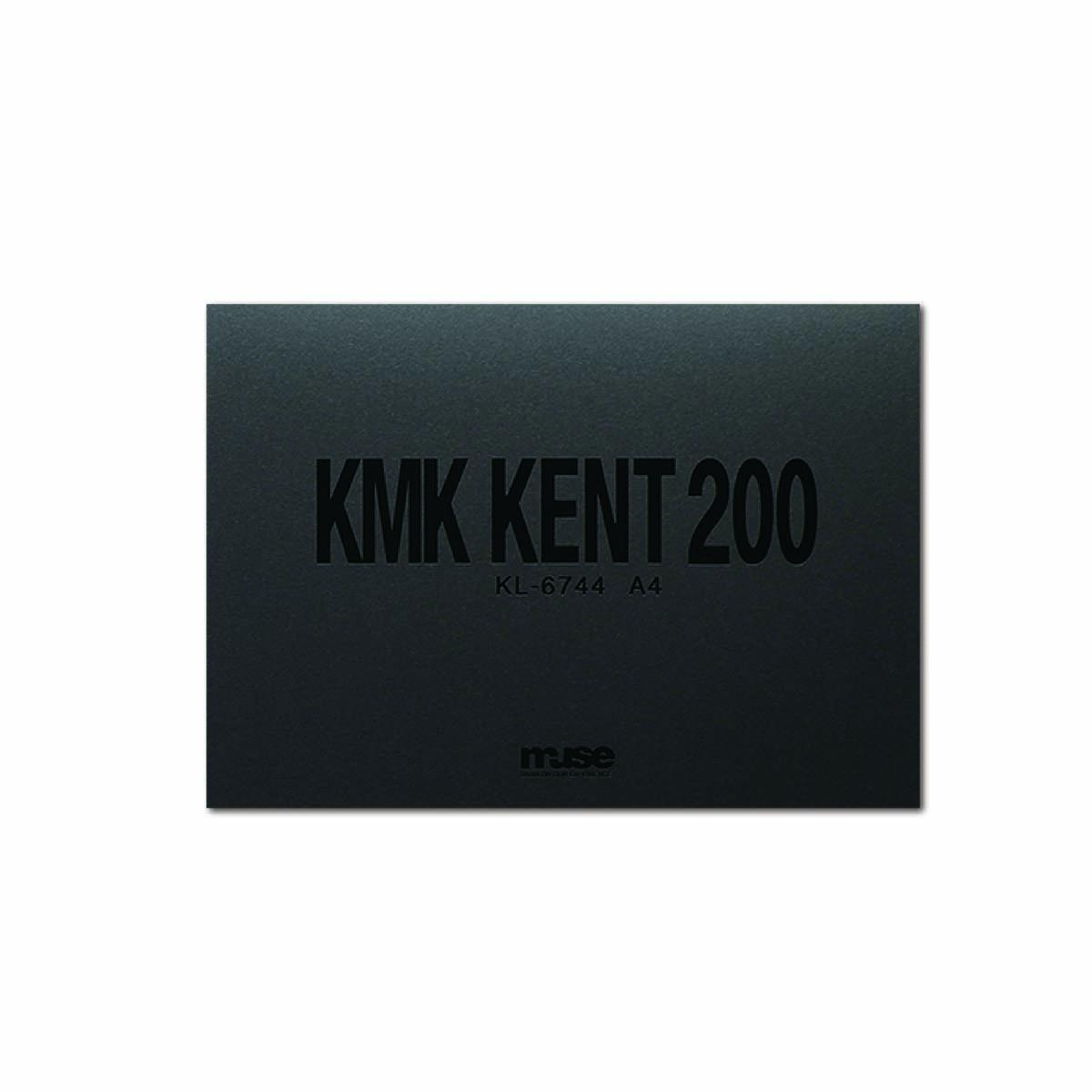 さまざまな用途に使えるケントブック ミューズ KMKケント#200ブロック KL-6744 激安価格と即納で通信販売 ギフ_包装 A4