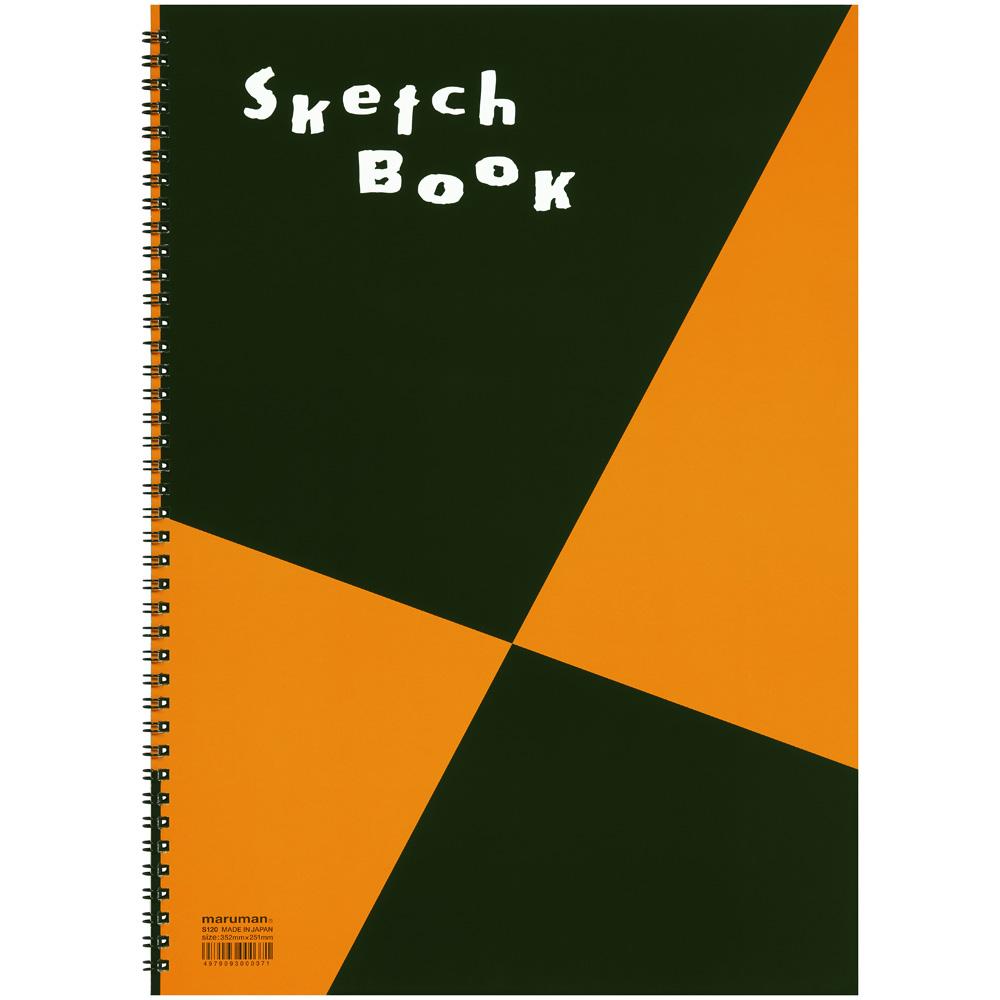 お絵描きや 最新アイテム リモート 会議 オンライン 飲み会のツールに マルマン B4 スケッチブック 全国どこでも送料無料 画用紙並口 図案シリーズ S120