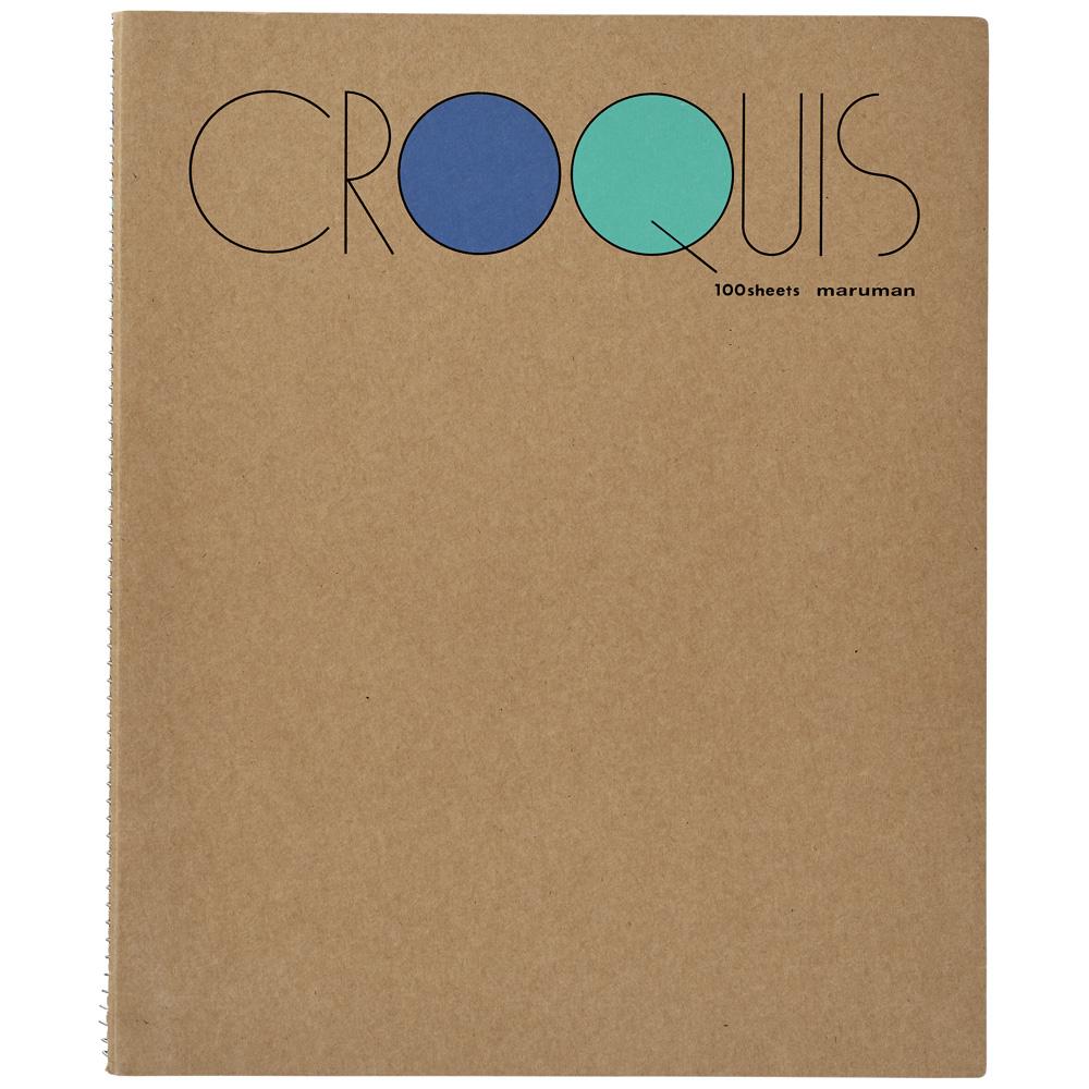 手軽に描けるクロッキーブック スーパーセール限定ポイント2倍 マルマン クロッキーブック SMLシリーズ Mサイズ SM-02 100枚 安心と信頼 注文後の変更キャンセル返品 白クロッキー紙