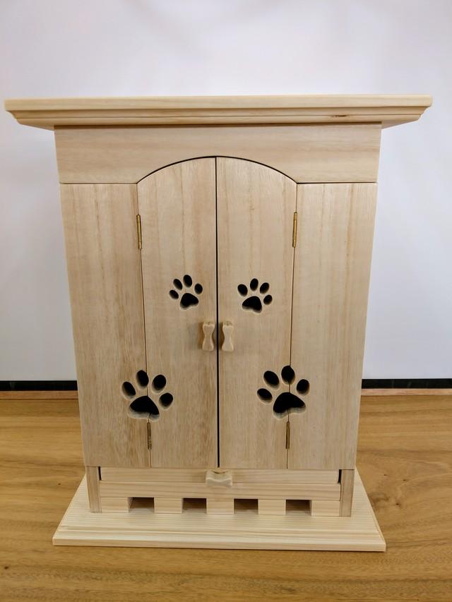 ペットの供養台(天然無垢材) 仏壇 ペット仏壇 手元供養台