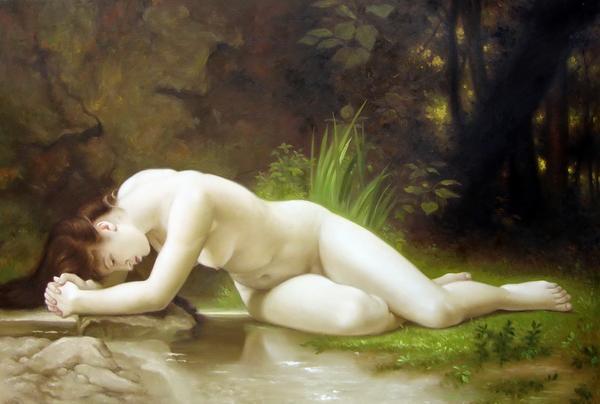 特価油絵 ウィリアム・ブーグローの名作「ビブリス」